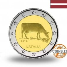LATVIA 2 EURO 2016 COW