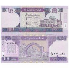 AFGANISTANAS 100 AFGHANIS 2004 P # 70b UNC