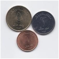 AFGANISTANAS 2004 m. 3 monetų rinkinukas