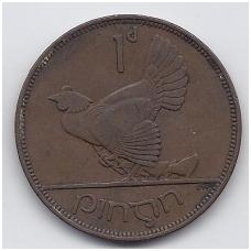 AIRIJA 1 PENNY 1935 KM # 3 VF