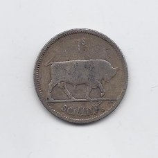 AIRIJA 1 SHILLING 1928 KM # 6 VG/F