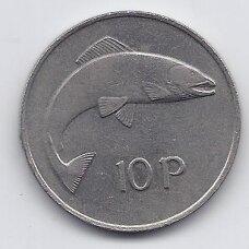 AIRIJA 10 PENCE 1976 KM # 23 VF