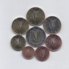 AIRIJA 2002 - 2012 m. pilnas euro monetų rinkinukas