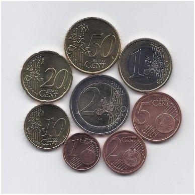 AIRIJA 2006 m. euro monetų komplektas 2
