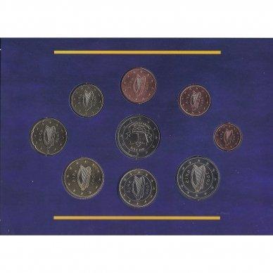 AIRIJA 2007 m. OFICIALUS EURO MONETŲ RINKINYS SU PROGINE 2 EURŲ MONETA 2