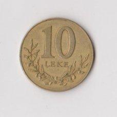 ALBANIJA 10 LEKE 1996 KM # 77 VF
