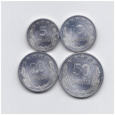 ALBANIJA 1964 m. 4 MONETŲ RINKINYS