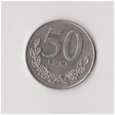 ALBANIJA 50 LEKE 1996 KM # 79 VF
