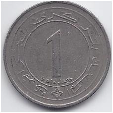 ALŽYRAS 1 DINAR 1987 KM # 117 VF