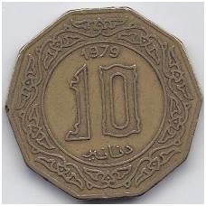 ALŽYRAS 10 DINARS 1979 KM # 110 VF