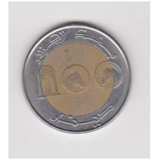 ALŽYRAS 100 DINARS 1993 KM #132 VF