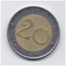 ALŽYRAS 20 DINARS 2005 KM # 125 VF