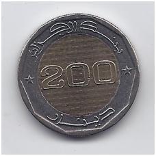 ALŽYRAS 200 DINARS 2012 KM # 140 UNC