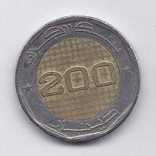 ALŽYRAS 200 DINARS 2012 KM # 140 VF