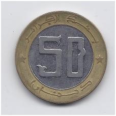 ALŽYRAS 50 DINARS 1999 KM # 126 VF