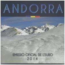 ANDORRA OFFICIAL FULL EURO SET