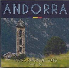 ANDORA 2016 m. OFICIALUS EURO MONETŲ RINKINYS
