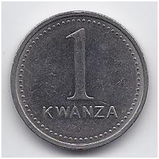 ANGOLA 1 KWANZA 1999 KM # 97 VF