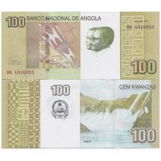 ANGOLA 100 KWANZAS 2012 P # new UNC