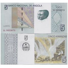 ANGOLA 5 KWANZAS 2012 P # new UNC
