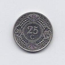 ANTILAI ( NYDERLANDŲ ) 25 CENTS 2003 KM # 35 VF
