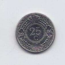 ANTILAI ( NYDERLANDŲ ) 25 CENTS 2004 KM # 35 VF