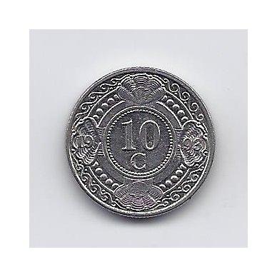 ANTILAI ( NYDERLANDŲ ) 10 CENTS 1993 KM # 34 VF