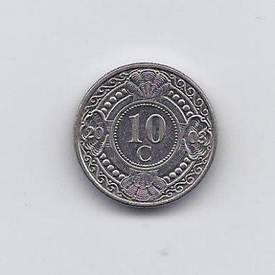 ANTILAI ( NYDERLANDŲ ) 10 CENTS 2003 KM # 34 VF