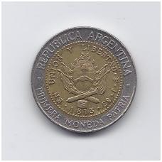 ARGENTINA 1 PESO 1994 KM # 112.1 VF