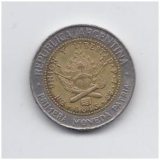 ARGENTINA 1 PESO 1995 KM # 112.1 VF