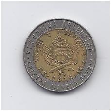 ARGENTINA 1 PESO 1995 KM # 112.2 VF