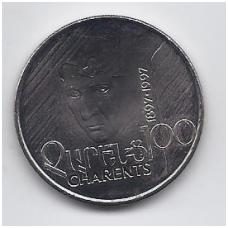 ARMĖNIJA 100 DRAM 1997 KM # 76 UNC CHARENTS