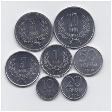 ARMĖNIJA 1994 m. 7 monetų rinkinys