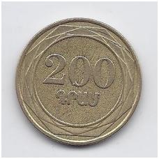 ARMĖNIJA 200 DRAM 2003 KM # 96 VF
