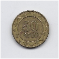 ARMĖNIJA 50 DRAM 2003 KM # 94 VF