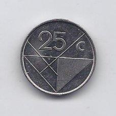 ARUBA 25 CENTS 2003 KM # 3 VF