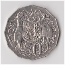 AUSTRALIJA 50 CENTS 1996 KM # 83 VF