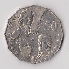 AUSTRALIJA 50 CENTS 1998 KM # 364 VF