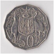 AUSTRALIA 50 CENTS 2007 KM # 404 VF