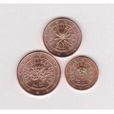 AUSTRIA 2015 MINI EURO SET