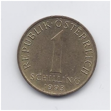 AUSTRIJA 1 SCHILLING 1993 KM # 2886 VF