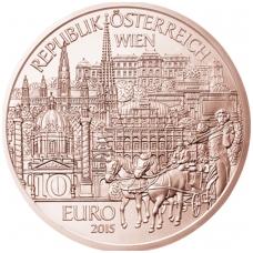 AUSTRIJA 10 EURO 2015 KM # 3243 VIENA