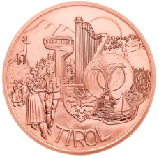 AUSTRIJA 10 EURO 2014 KM # 3235  UNC TIROLIS