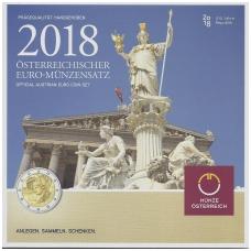 AUSTRIJA 2018 m. OFICIALUS BANKINIS RINKINYS