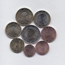 AUSTRIJA 2021 m. euro monetų rinkinys