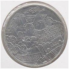 AUSTRIJA 500 SCHILLINGS 2001 KM # 3080 UNC ŠATENBURGAS