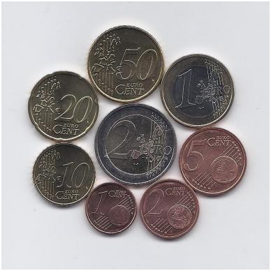 AUSTRIJA 2006 m. euro monetų komplektas 2