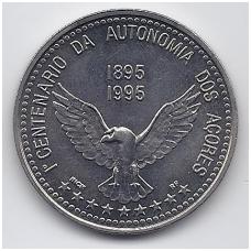 AZORAI 100 ESCUDOS 1995 KM # 47 AU