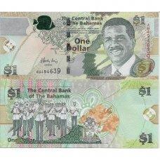 BAHAMAI 1 DOLLAR 2015 P # 71b UNC