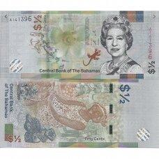 BAHAMAI 1/2 DOLLAR 2019 P # new UNC